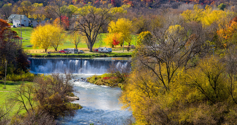 Fall is the perfect time for a getaway to Lanesboro MN.